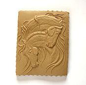 Для дома и интерьера handmade. Livemaster - original item Horse gingerbread form as a gift a couple for the new year. Handmade.