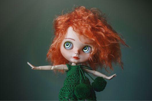 Коллекционные куклы ручной работы. Ярмарка Мастеров - ручная работа. Купить Кукла Blythe(Merida). Handmade. Кукла ручной работы, блайз