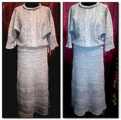 Одежда handmade. Livemaster - original item 100% linen yarn.Suit