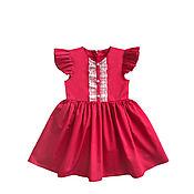 """Платье ручной работы. Ярмарка Мастеров - ручная работа Платье для девочки """"Адель"""". Handmade."""