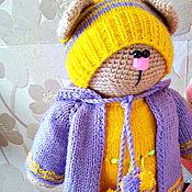 Куклы и игрушки ручной работы. Ярмарка Мастеров - ручная работа Котик в стиле тильда. Вязаная крючком игрушка. Handmade.