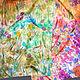 Шарфы и шарфики ручной работы. Ярмарка Мастеров - ручная работа. Купить Батик шарф «Цветы в поле». Handmade. Шелк, рисунок