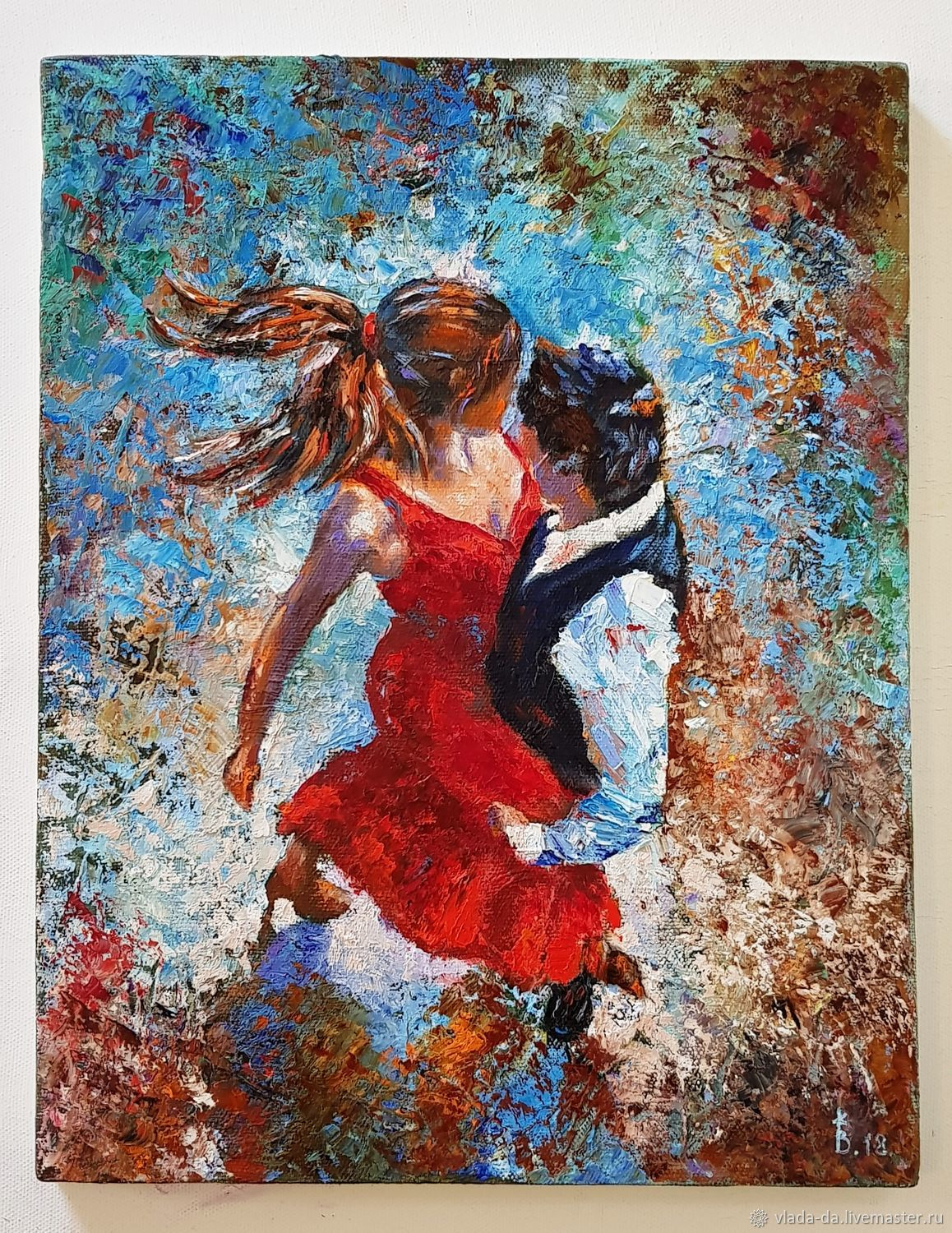 Oil painting tango for two, Pictures, Moscow,  Фото №1