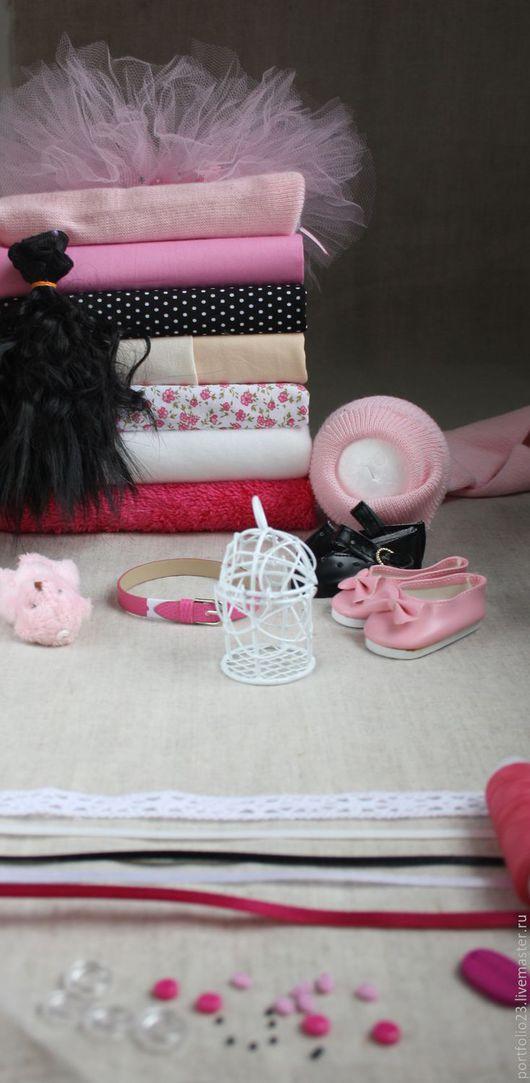 Куклы и игрушки ручной работы. Ярмарка Мастеров - ручная работа. Купить Подбор материалов для пошива куклы # 42.2. Handmade.