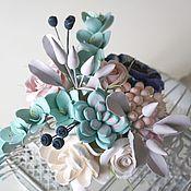 Цветы и флористика handmade. Livemaster - original item Bouquet Of Tenderness-4. Flowers polymer clay handmade.. Handmade.