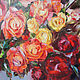 Oil painting. Roses. Pictures. SVETINLOOK (svetinlook). My Livemaster. Фото №5