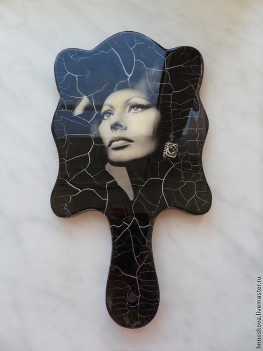 """Зеркала ручной работы. Ярмарка Мастеров - ручная работа. Купить Зеркало """"Софи  Лорен"""".. Handmade. Зеркало, Зеркало в подарок, мотив"""