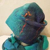 Аксессуары ручной работы. Ярмарка Мастеров - ручная работа Валяная шапка-колпак. Handmade.