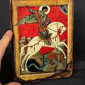 Картины и панно handmade. Livemaster - original item Wooden icon with an ark.