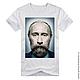 Футболки, майки ручной работы. Путин с бородой. Savara. Интернет-магазин Ярмарка Мастеров. Креативная футболка, подарок на любой случай