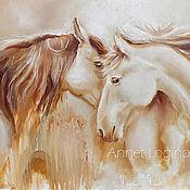 Картины и панно handmade. Livemaster - original item Golden horse. Handmade.