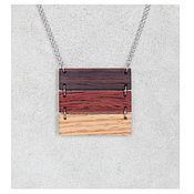 Украшения handmade. Livemaster - original item Pendant made of wood.. Handmade.