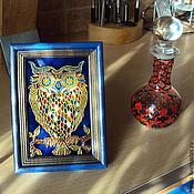 Для дома и интерьера handmade. Livemaster - original item The picture souvenir stained glass Savonia. Handmade.