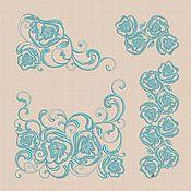 """Материалы для творчества handmade. Livemaster - original item Machine Embroidery Design Set """"Maki"""" bt029. Handmade."""