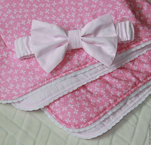 Для новорожденных, ручной работы. Ярмарка Мастеров - ручная работа. Купить Одеяло на выписку для новорожденного. Handmade. Комбинированный, одеяло детское