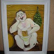 Картины и панно ручной работы. Ярмарка Мастеров - ручная работа картины маслом. Handmade.