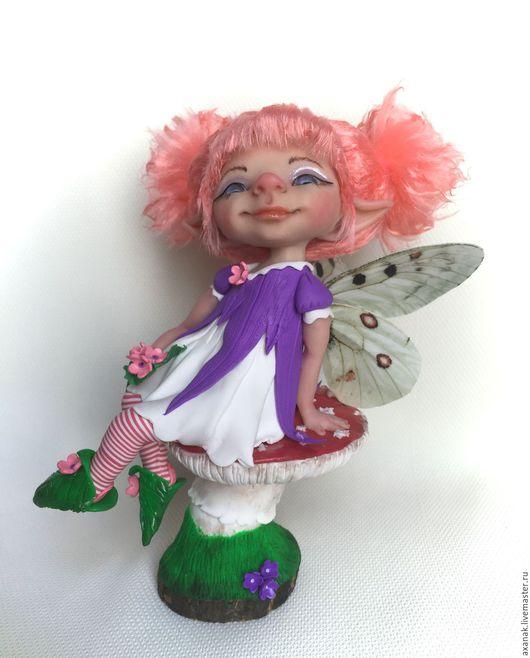 Коллекционные куклы ручной работы. Ярмарка Мастеров - ручная работа. Купить Роузи. Handmade. Комбинированный, лесной житель, подарок девушке