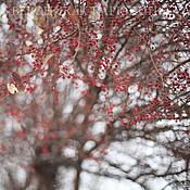 """Картины и панно ручной работы. Ярмарка Мастеров - ручная работа Фотокартина """"Первый снег"""". Handmade."""