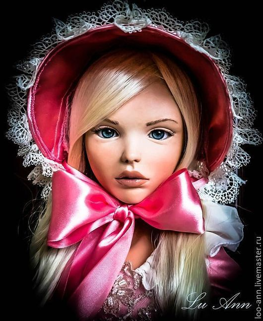 Коллекционные куклы ручной работы. Ярмарка Мастеров - ручная работа. Купить Эшли. Handmade. Розовый, подарок 2013, ЛивингДолл