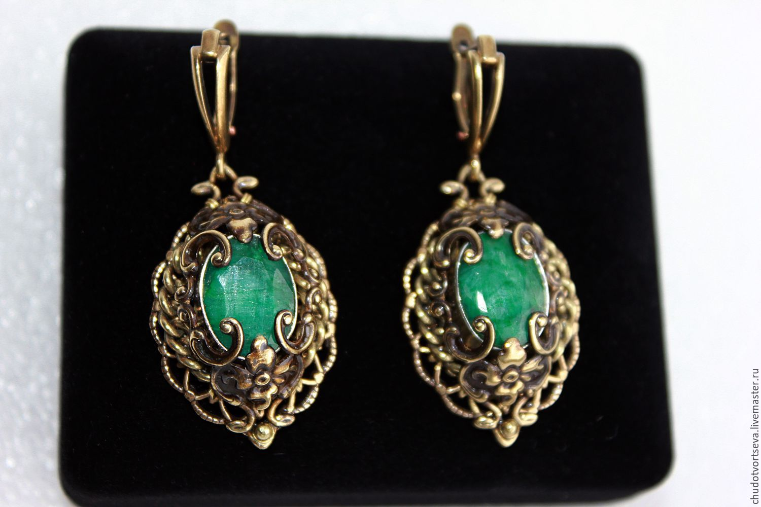 a russie earrings paste antique pear victorian drop la shape vieille