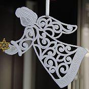 Сувениры и подарки handmade. Livemaster - original item Christmas angel with a star. Handmade.