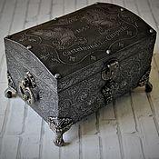 handmade. Livemaster - original item Jewelry box chest