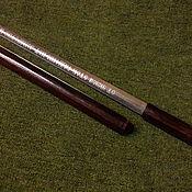 Сувениры и подарки handmade. Livemaster - original item A cane with a blade in brass. Handmade.