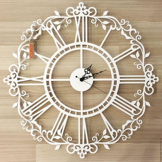 """Часы для дома ручной работы. Ярмарка Мастеров - ручная работа. Купить Часы 60см """"Aaris"""". Handmade. Настенные часы"""