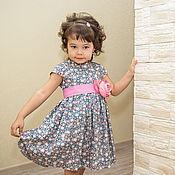 Работы для детей, ручной работы. Ярмарка Мастеров - ручная работа Детское платье Розочка. Handmade.