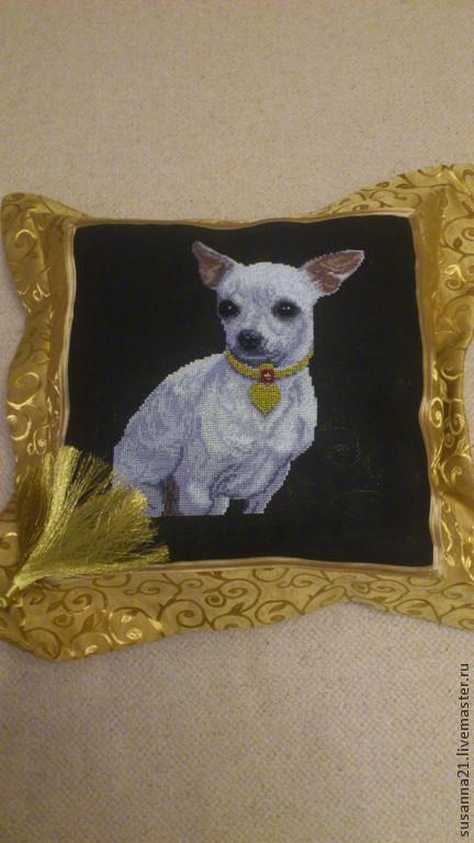 Текстиль, ковры ручной работы. Ярмарка Мастеров - ручная работа. Купить подушка. Handmade. Классический стиль, домашний текстиль