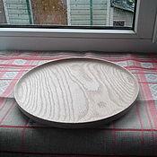 Посуда ручной работы. Ярмарка Мастеров - ручная работа Тарелки точенные из дуба. Handmade.