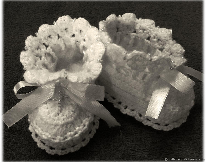 выходят сушу самые красивые крестильные пинетки фото желание взять руки