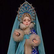 """Куклы и игрушки ручной работы. Ярмарка Мастеров - ручная работа Шарнирная кукла """"Снегурочка"""". Handmade."""