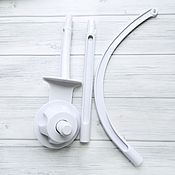 Материалы для творчества handmade. Livemaster - original item The bracket cross-piece for mobile. Handmade.