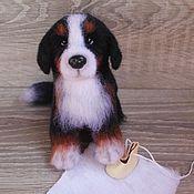 Куклы и игрушки ручной работы. Ярмарка Мастеров - ручная работа Валяная собачка Арника. Handmade.