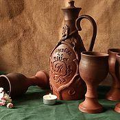 Посуда handmade. Livemaster - original item Wine set