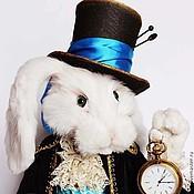 """Куклы и игрушки ручной работы. Ярмарка Мастеров - ручная работа Белый кролик из """"Алисы в стране Чудес"""". Handmade."""