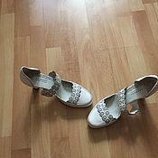 Туфли ручной работы. Ярмарка Мастеров - ручная работа Обувь : туфли свадебные. Handmade.