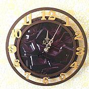 Для дома и интерьера ручной работы. Ярмарка Мастеров - ручная работа Часы настенные Все в шоколаде. Handmade.