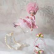 Будуарная кукла ручной работы. Ярмарка Мастеров - ручная работа Флер. Handmade.