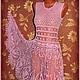 Платья ручной работы. Заказать Платье крючком, вязаное платье. Pay_tinka 'Magic HandMade'. Ярмарка Мастеров. Платье вязаное