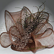 Аксессуары handmade. Livemaster - original item Evening hat-veil