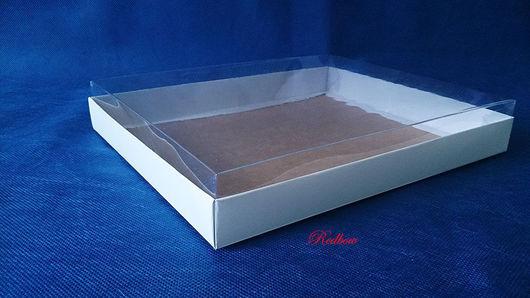 Упаковка ручной работы. Ярмарка Мастеров - ручная работа. Купить Коробка с пластиковой крышкой М6. Handmade. Коробка, коробка для мыла
