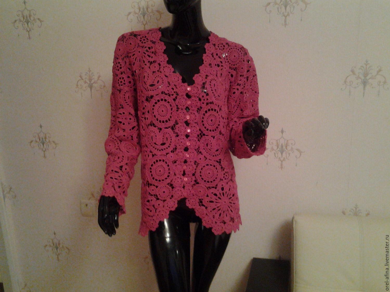 Jacket crochet Cranberries, Suit Jackets, Orel,  Фото №1