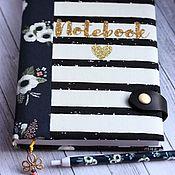 Канцелярские товары handmade. Livemaster - original item Diary Anemones. Handmade.