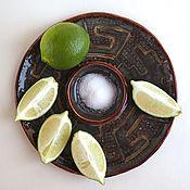 Тарелки ручной работы. Ярмарка Мастеров - ручная работа Тарелка для церемоний «Мексика». Handmade.