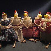 Куклы и игрушки ручной работы. Ярмарка Мастеров - ручная работа Обезьянки, овцы, зайки и мышки, петухи и курочки. Handmade.