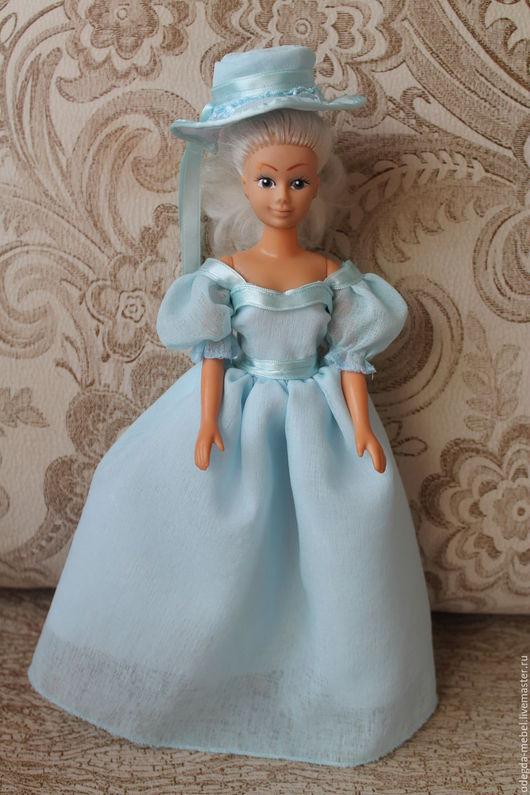 """Одежда для кукол ручной работы. Ярмарка Мастеров - ручная работа. Купить Бальное платье """"Нежно-голубое"""" для Барби. Handmade. барби"""
