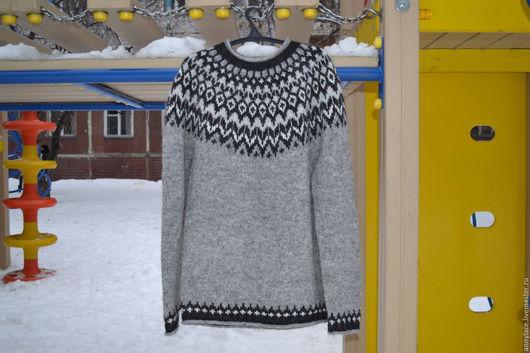 Кофты и свитера ручной работы. Ярмарка Мастеров - ручная работа. Купить Исландский свитер. Handmade. Серый, исландский свитер, свитер