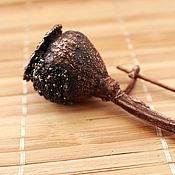 Украшения ручной работы. Ярмарка Мастеров - ручная работа Брошь медная - Мак с семенами. Handmade.